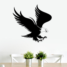 Free Shipping Eagle Wall Decor Art Vinyl Sticker Animal Decals for Living Room Bedroom Kids Room Decoration WallPaper Home Decor цена и фото