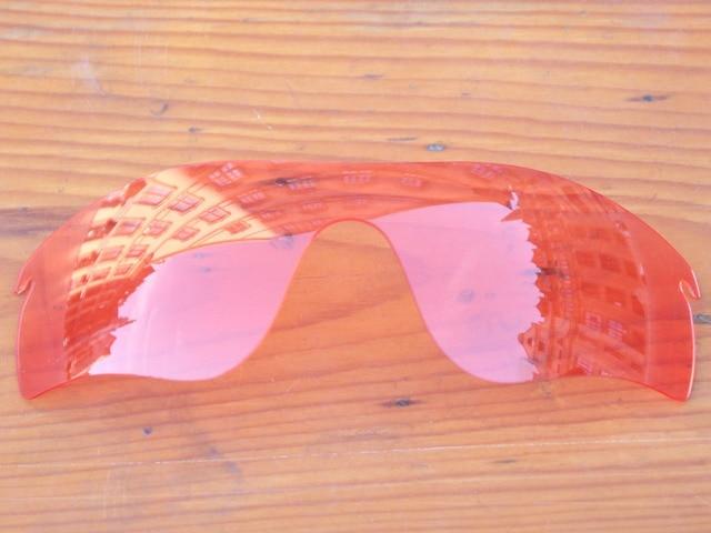 a620ca60de37c Cristal Rosa Lentes de Substituição Para O Radar Path Óculos De Sol Quadro  100% UVA