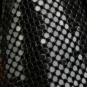 Image 5 - 여성을위한 블랙 패션 체인 숄더 가방 저녁 파티 양동이 스팽글 가방 2020 은색 골드 지갑 여자 핸드백 여자 dropship