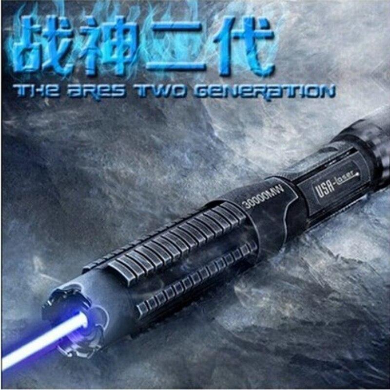 JSHFEI синий свет/зеленый свет лазерная ручка Альпинизм Кемпинг развлечения Специальный мощный лазерный фонарик оптовая продажа