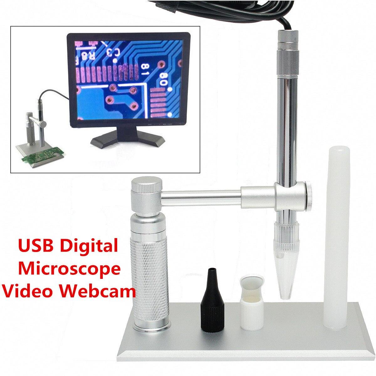 Mikroskopy dla Andonstar statyw 500X2 MP mikroskop cyfrowy USB kamera wideo lupa statyw kamery w Mikroskopy od Narzędzia na AliExpress - 11.11_Double 11Singles' Day 1