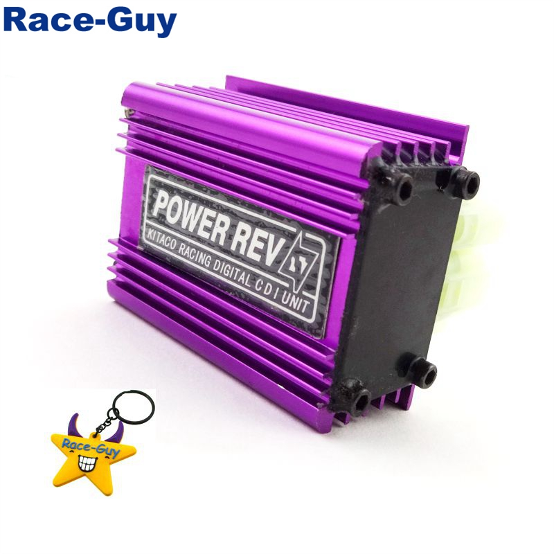 12V Adjustable Racing AC Ignition CDI Box For GY6 50cc 125cc 150cc Engine Chinese ATV Quad 4 Wheeler Moped Scooter