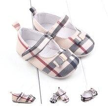 Baby Shoes Girl New Lattice Pattern infant crib sho