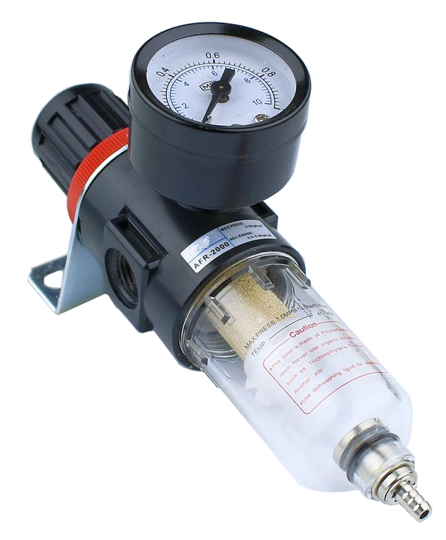 1 stücke AFR-2000 Luftfilter Regler Kompressor & Druck & Öl wasser trennung + Gauge Outfit + Schnell stecker AFR2000