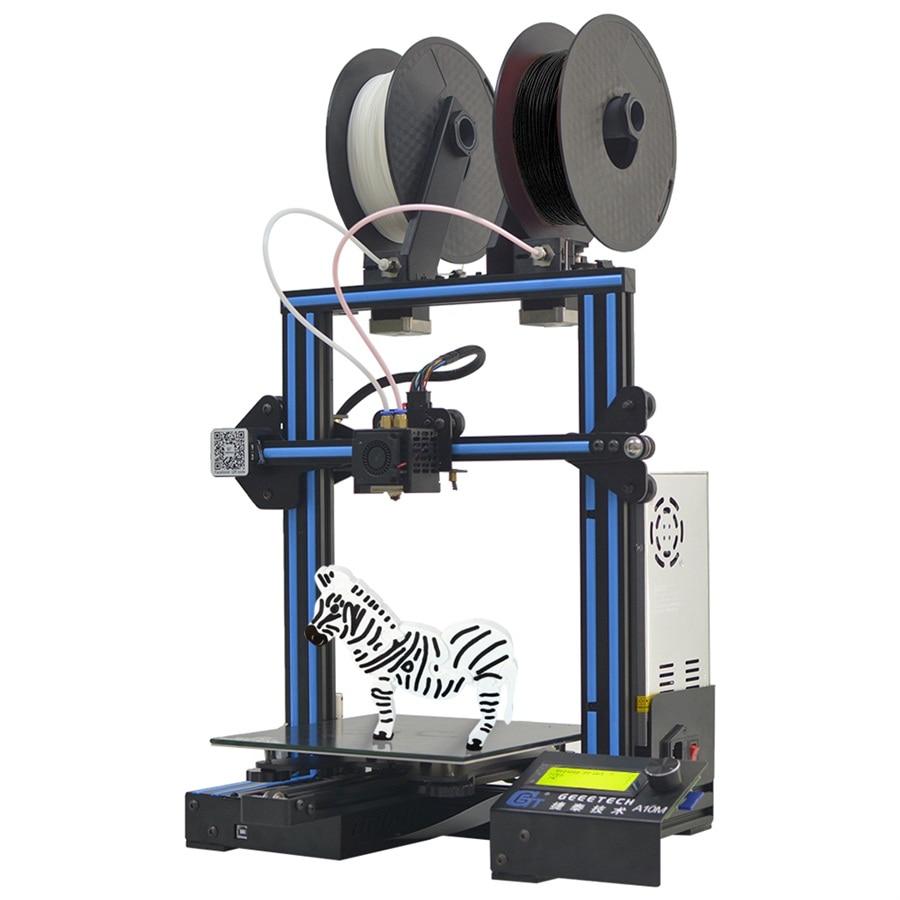 Geeetech A10/A10M/A30/A20/A20M imprimante 3d montage rapide avec détecteur de Filament Super Hotbed et capacité de reprise de rupture