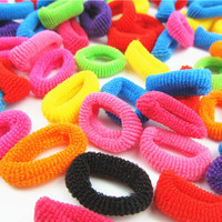 100Pcs-Colorful-Rainbow-Cute-Hair-Band-Ponytail-Holders-For-Girl-Women-High-Elastic-Rubber-HairBands-Hair-Accessories-1