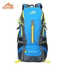 ビッグ容量男性女性屋外キャンプ摩耗耐性45lバックパック登山狩猟旅行バックパック防水スポーツバッグ