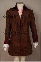 Лидер продаж Джонни Депп безумный Шляпник Алиса чудес куртка костюм Косплэй Для мужчин