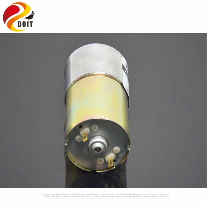 Official DOIT 12V 10W XD-37GB520 Miniature DC Motor Slowdown Low Speed High Torque Electric Tools DIY Robot Toy Parts