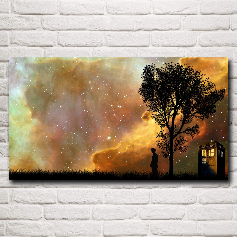 Doctor Who Television Series Art Silk Fabric Poster Print Home Decor
