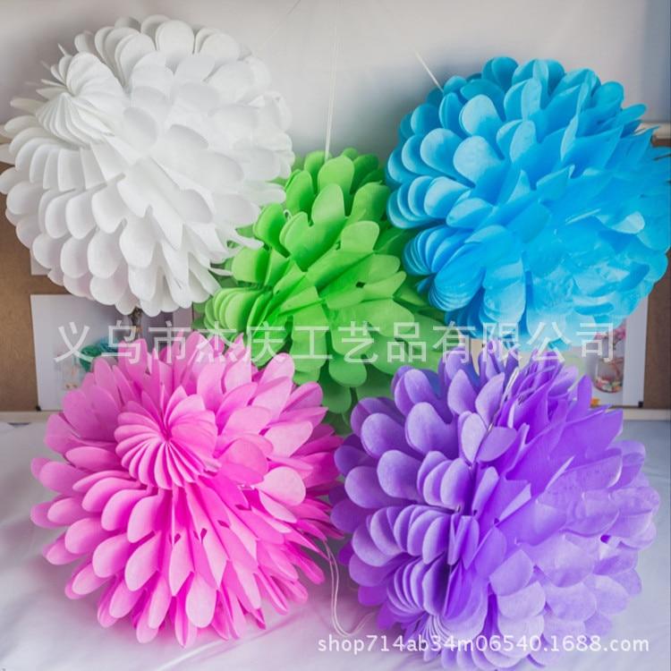 """5pcs 8/"""" 12/"""" 14/"""" Tissue Paper Fans Hanging Wedding Party Decor Banquet Colours"""