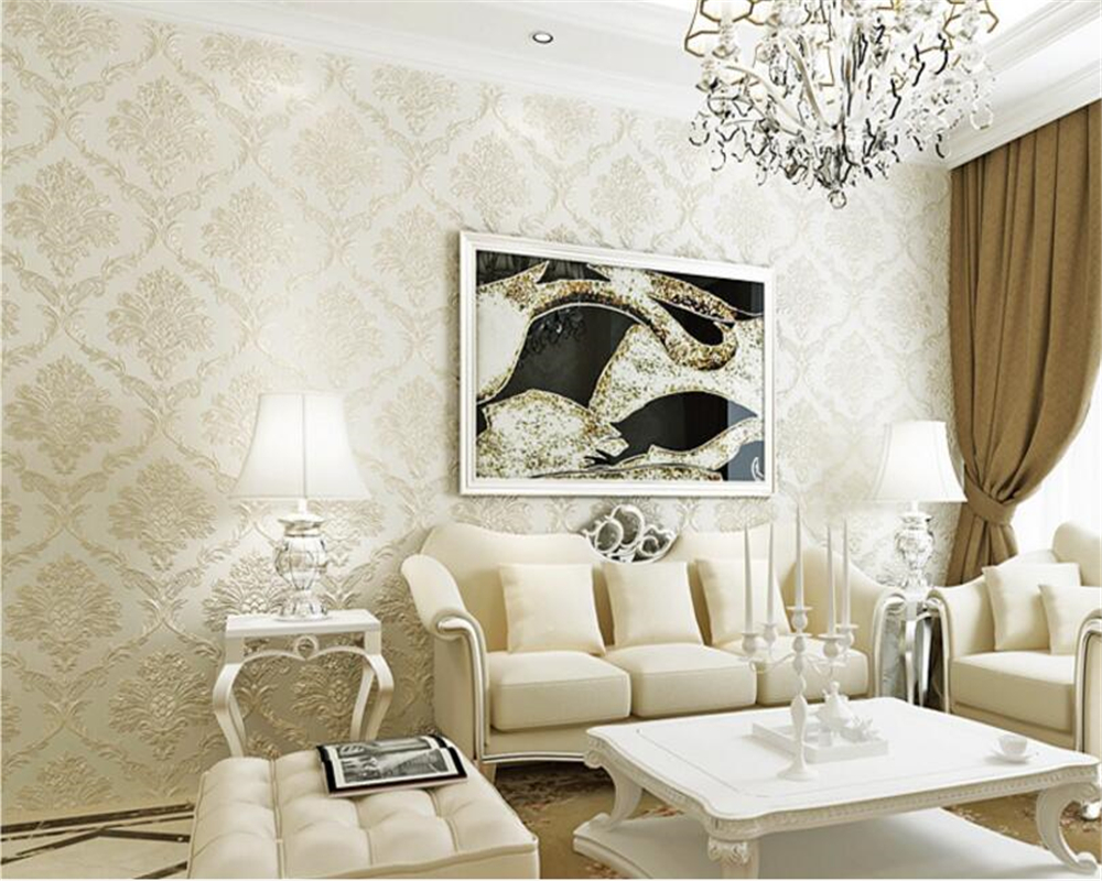 beibehang Boutique papel de parede non woven 3d square living room bedroom wall paper ktv hotel TV wall wallpaper papier peint in Wallpapers from Home Improvement