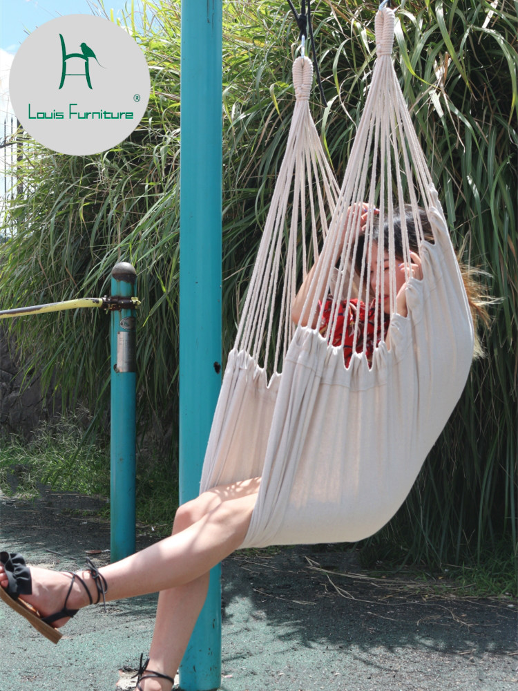 Incredible Us 19 9 Louis Fashion Hammock Bedroom Student Dormitory Indoor Lazy Person Lovely Rocking Chair Modern In Patio Swings From Furniture On Aliexpress Ocoug Best Dining Table And Chair Ideas Images Ocougorg