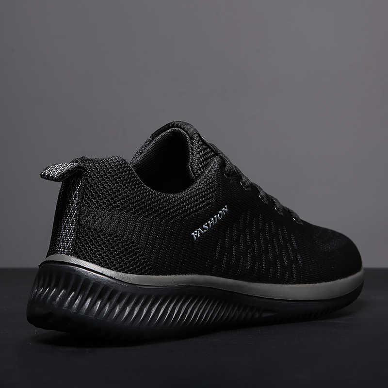 แบรนด์ชายรองเท้าสบายๆ Breathable นุ่มรองเท้าผ้าใบคุณภาพสูงฤดูร้อนบินผ้ารองเท้า Krasovki Zapatos Hombre