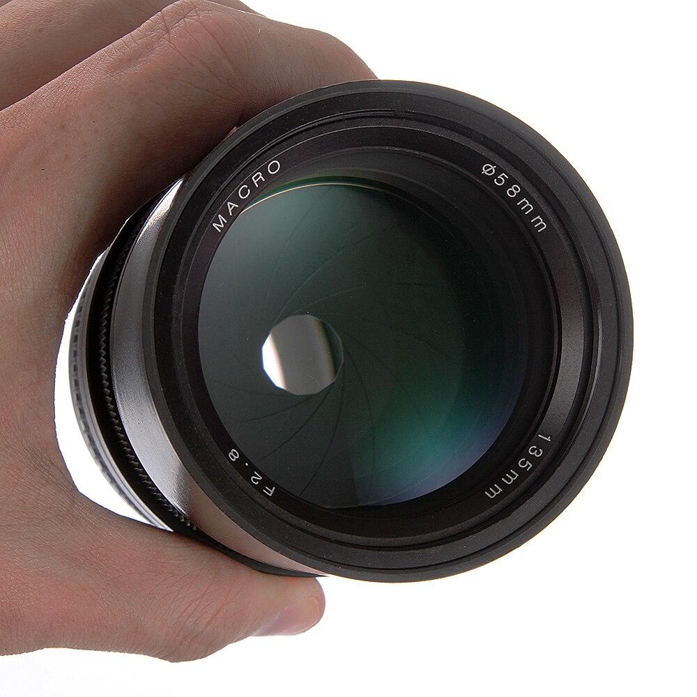 135mm F2.8 Manual Focus MF Telephoto Prime Lens For Nikon F D5300 D3400 D500 D600 D3100 D3200 Cameras