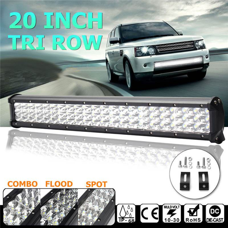 Spot Flood Combo Tri Row Work Light 20Inch 189W LED Work Light Bar 6000k Waterproof IP68 For Offroad SUV ATV DC10-30V видеоигра бука saints row iv re elected
