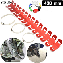 YOWLING New Motorcycle Exhaust Muffler Pipe Heat Shield Cover Guard For HONDA CR125 CR250 XR125 XR250 CRF250 CRF450 CRM250