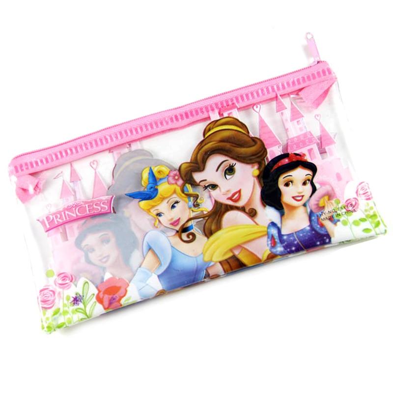 12PCS kids party favors princess pen bag happy birthday party gift baby shower souvenir
