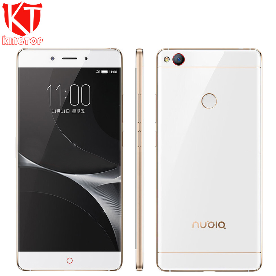 "Origin ZTE Nubia Z11 Mobile Phone 5.5"" 4GB RAM 64GB ROM Snapdragon 820 Quad Core Borderless 16MP NFC Fingerprint Mobile Phone"