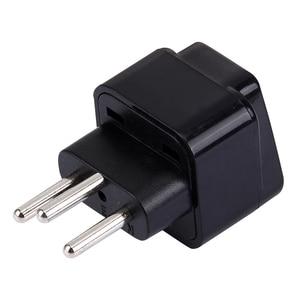 Image 5 - Universele 3pin Zwitserland Conversie Plug Adapter Uk/Us/Eu/Au 3 Pin Zwitserland Travel Plug Type J zwitserse Plug Converter Plug
