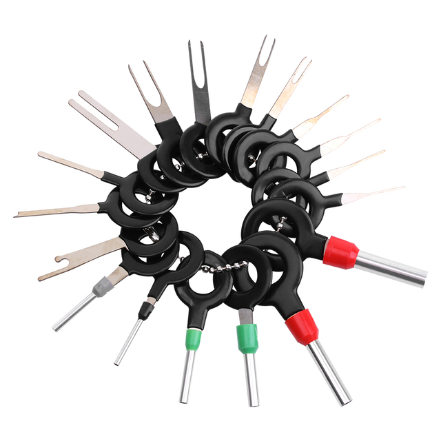 18pcs/set Auto Car Plug Circuit Board Wire Harness Terminal