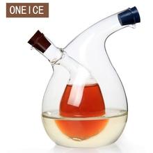 купить Free Shipping Multipurpose Large Kitchen Seasoning Bottle Green Glass Oiler oil can leak oil vinegar sauce bottle High Quality по цене 1149.57 рублей