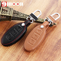 High Quality Leather Car Styling Key Cover For Nissan Sunny Sylphy Teana Qashqai Livina X-Trail