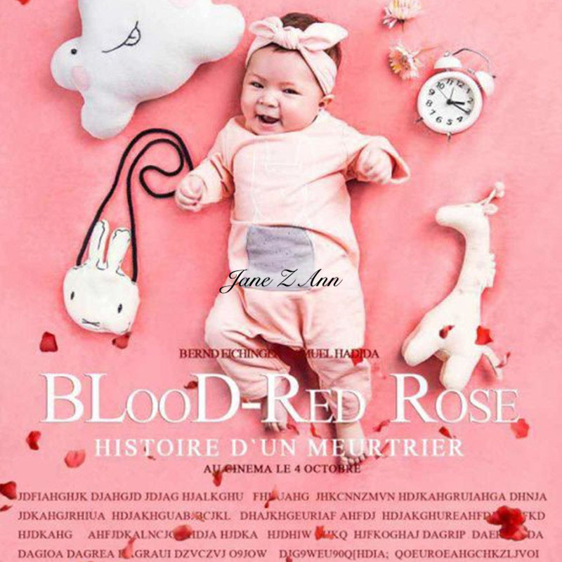 Jane Z Ann Baby Photography Props Pink creative Theme Background Clothes Set Fotografia Accessory Studio Shoot Photo Props