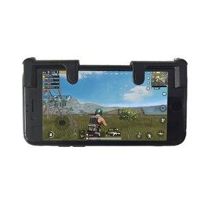 Image 2 - בקר משחק הנייד ג ויסטיק טריגר L1R1 כפתור אש כללים של הישרדות נייד טלפון חכם מפתח עבור PUBG המטרה מפעיל shooter