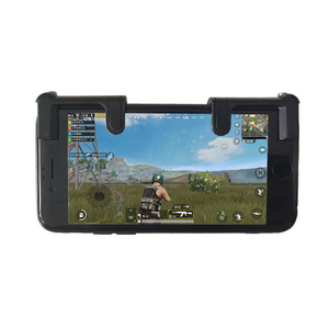 Image 2 - Mobile Game Joystick Trigger L1R1 Controller Fire Button Aim key Smart phone for PUBG rules of survival Mobile shooter Triggers