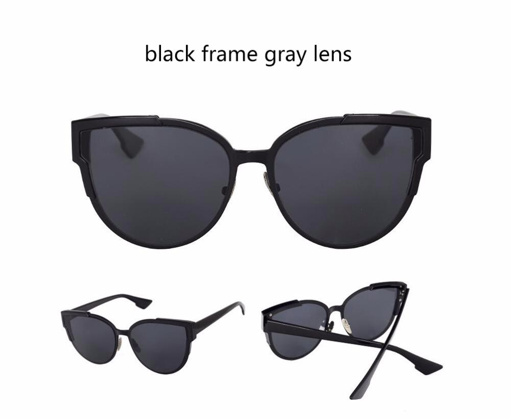 HTB1pWPoQVXXXXXtXpXXq6xXFXXXV - Women Cat Eye Luxury Fashion Designer Mirror Sunglasses