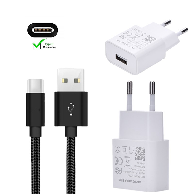 <font><b>charger</b></font> Charge Adapter 1M Type-C Usb Cable For Xiaomi HTC ZTE <font><b>Nokia</b></font> <font><b>8.1</b></font> 7.1 6.1 5.1 3.1 PLUS X3 X5 X6 X7 2018 Oneplus 6T 6 5 5T image