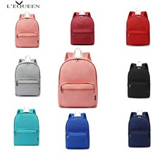LEQUEEN Brand Tide Oxford Cloth Mummy Bag Baby Diaper Solid Color Shoulder Ladies Korean Version Backpack