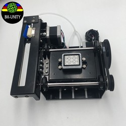 Dx5 pojedyncze głowy pompa tusz stacja montaż/do czyszczenia stacje dla mutoh pe syna zhongye drukarki eko rozpuszczalnika