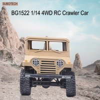 SUBOTECH BG1522 1/14 2.4G 4WD Crawler Off road RC Climbing Car Buggy Toys High Speed Vehicle with Headlight RTR HOT!