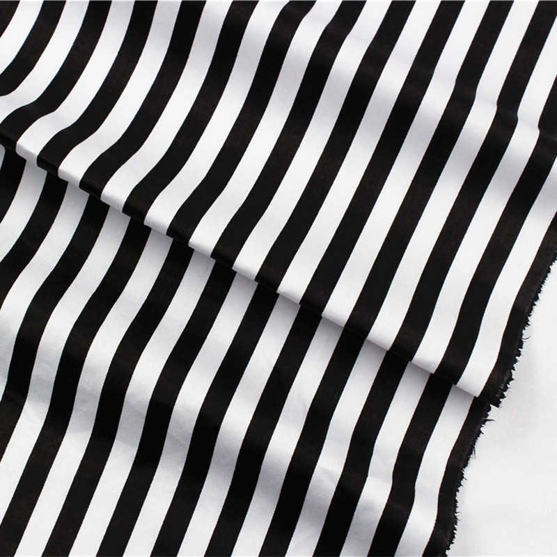 free shipping 50 cm * 150 cm cartoon series cotton Vertical stripes fabric, DIY handmade home textile .16010531.
