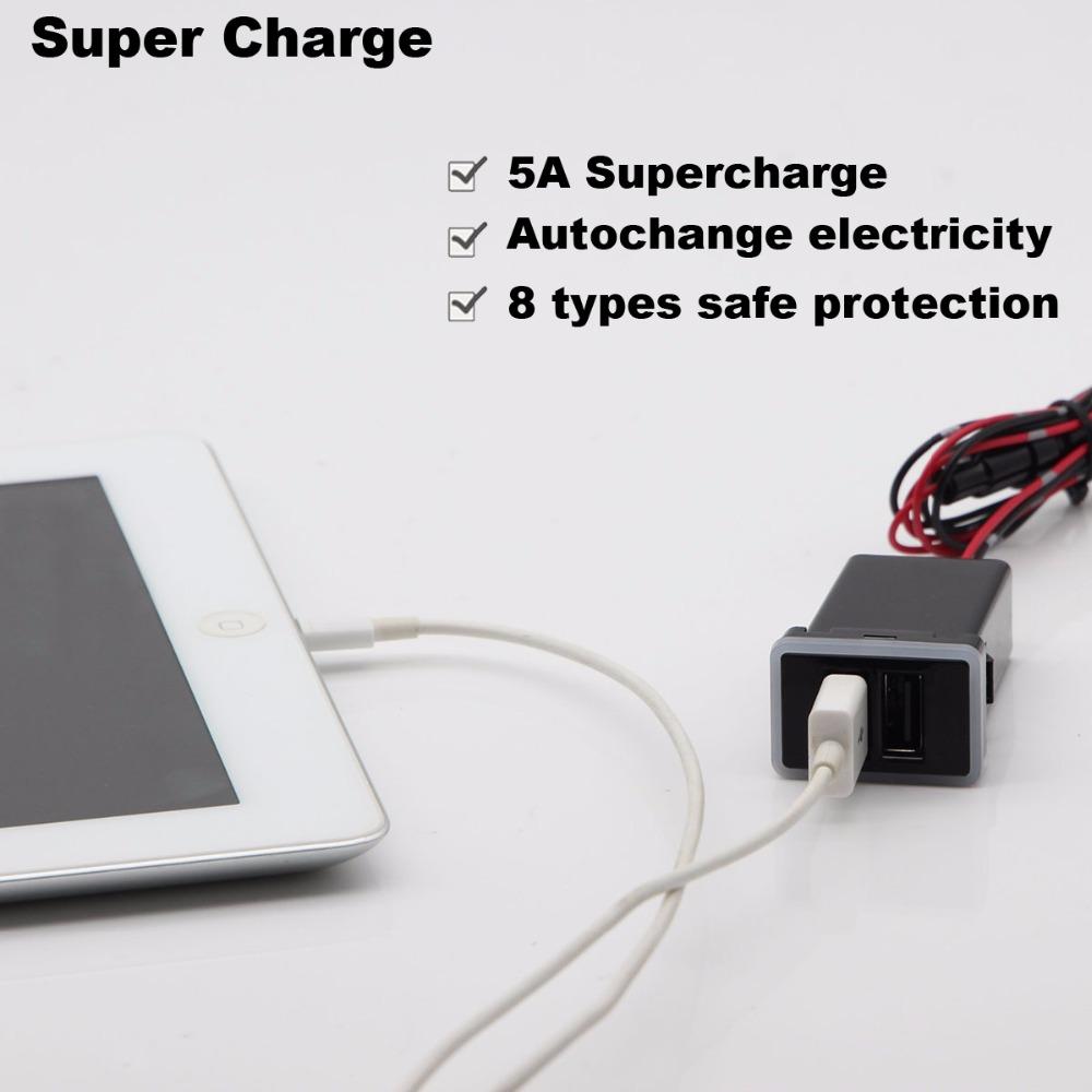 toyota super charge usb 1
