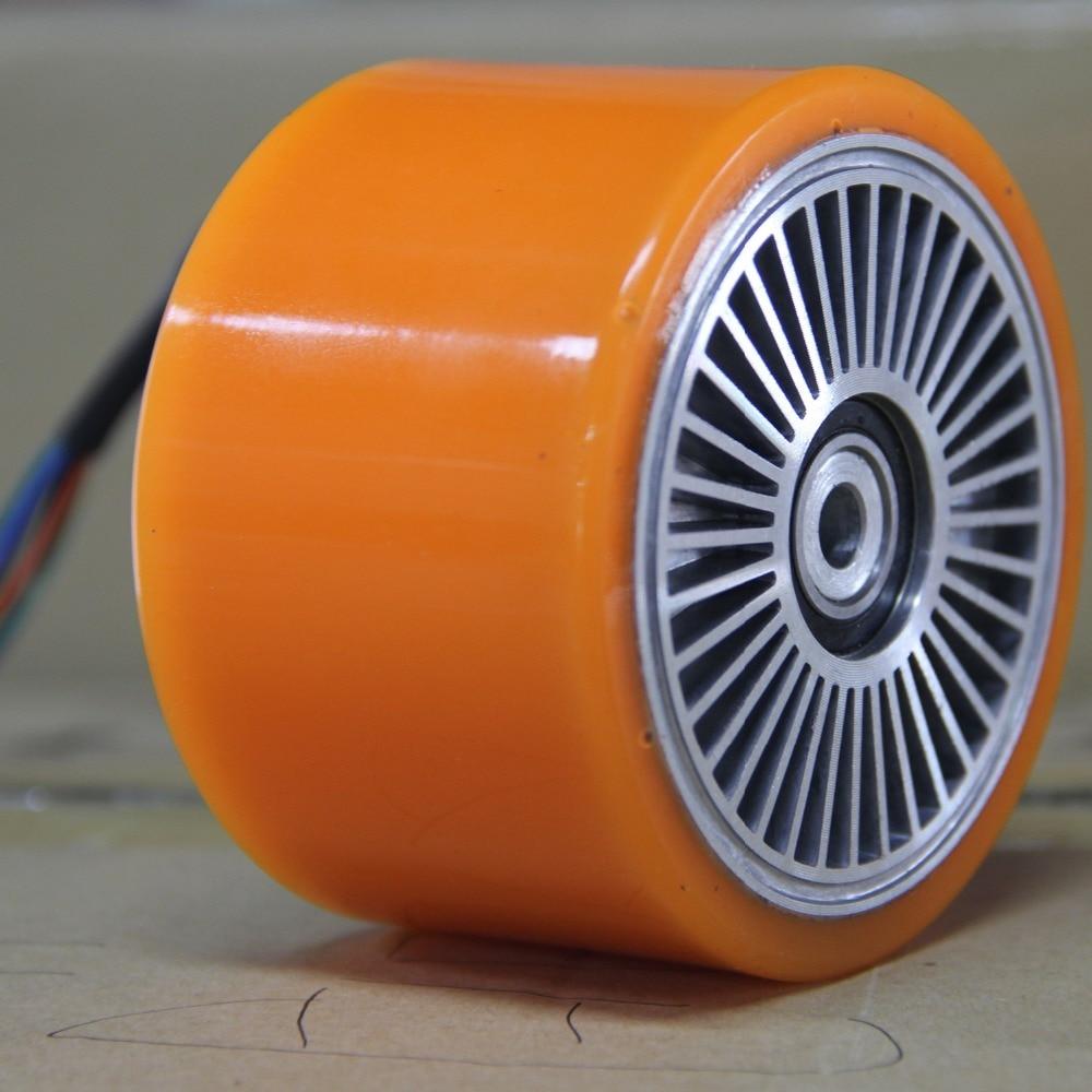 Motor de monopatín eléctrico Maxfind 90mm Motor de cubo sin escobillas de alta velocidad, Motor inteligente Micro autoequilibrado de 500 W para rueda - 6