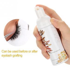 Image 3 - Eyelash Extension Glue Eye Lash Cleaning Foam Professional Eyelash Extensions Cleanser Shampoo No Stimulation Makeup Clean Tools