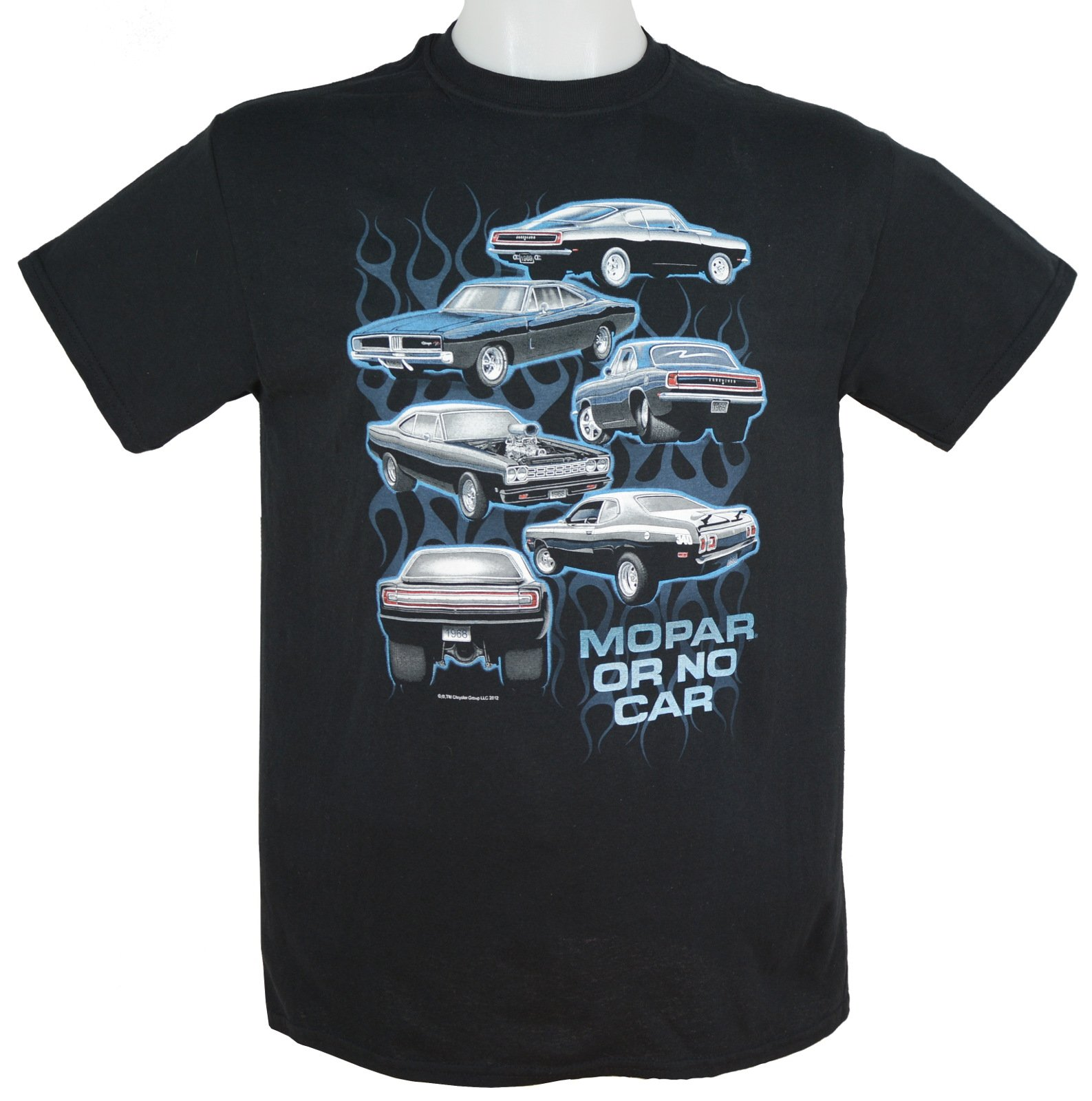 Muscle Car T Shirt Dodge Super Bee MOPAR 1971 Charger Mens Tall Sizes