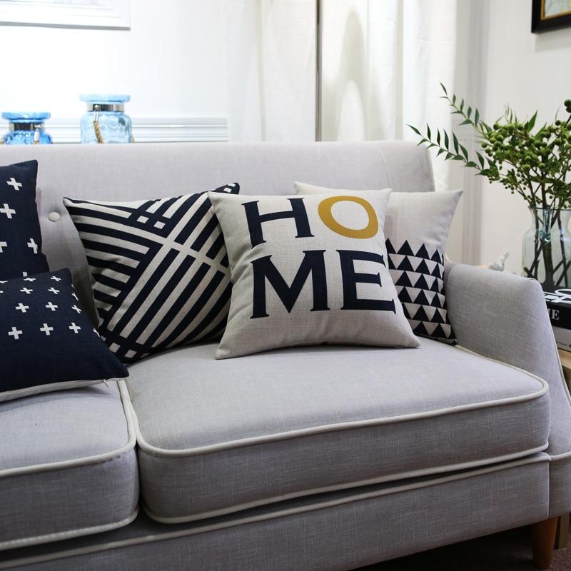 Drop Ship Nordic Home Pillow Cover Home Decor Cushion ...