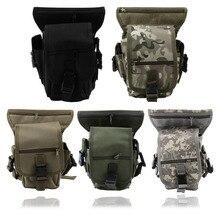 New arrival  Outdoor Tactical Military Drop Leg Bag Panel Utility Waist Belt Pouch