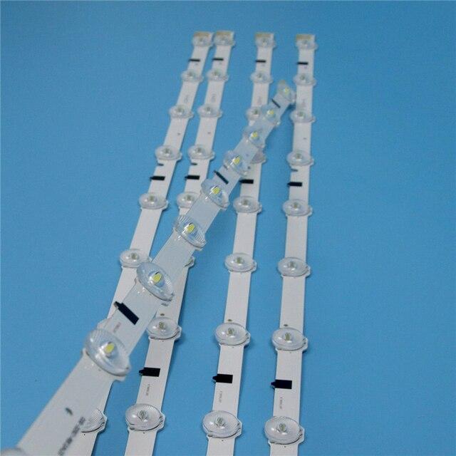 Barras LED de 5 piezas para Samsung UE32F5500AK UE32F5500AS UE32F5500AW versión 03, tira de luces LED de fondo, bandas de matriz de lámparas