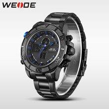 купить WEIDE men watches luxury clock men watch stainless steel digital relogio masculino militar water resistant sport watch horloge по цене 1285.64 рублей