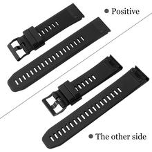 22mm Quick Fit  for Garmin Fenix 5 Silicon Belt Watch Band for fenix 5 Plus / S60 Focus / Forerunner 935 945/Quatix 5 22mm luxury genuine leather watch strap for garmin fenix 5 quick fit clasp wristband bracelet for fenix 5 plus quatix 5 belt