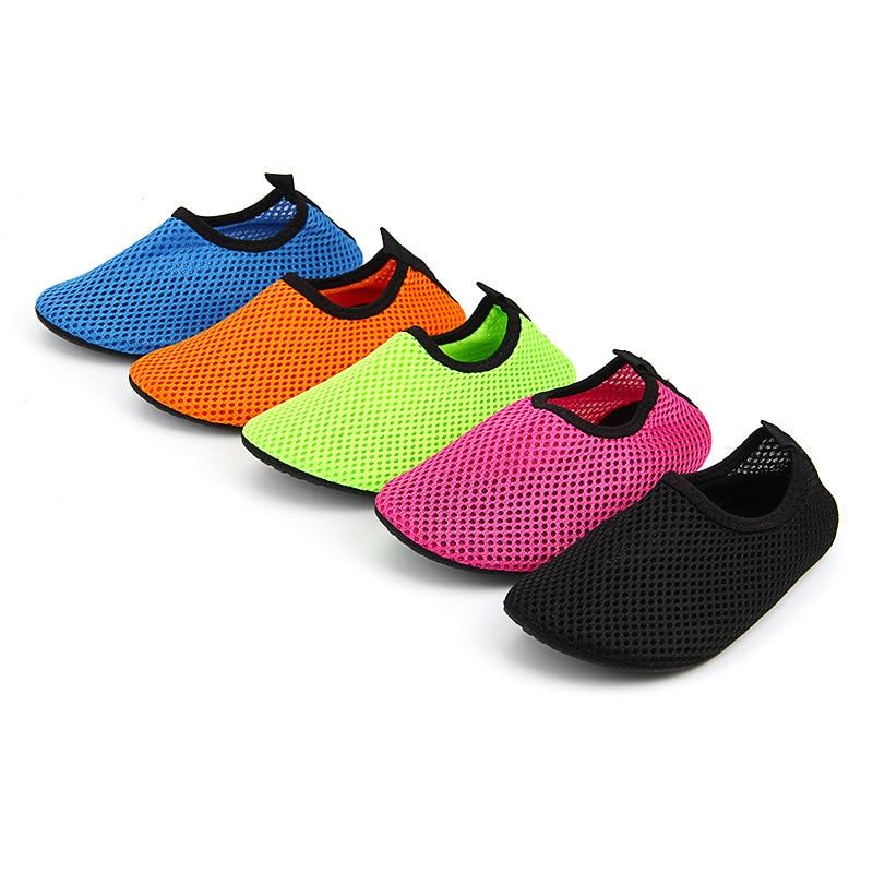 Kids Boys And Girls Water Shoes Aqua Socks Yoga Exercise Pool Beach Dance Swim Slip On Surf Home