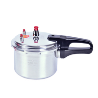 3L 18cm Aluminum Alloy Pressure Cooker Rice Beans Meat Soup Steaming Cooking