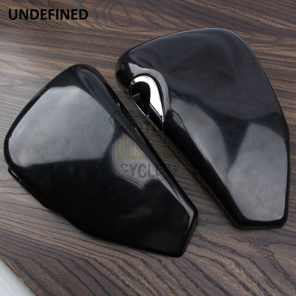 UNDEFINED Motorcycle Left Right Metal Battery Side Fairing Cover for <font><b>Harley</b></font> Sportster XL <font><b>Iron</b></font> <font><b>883</b></font> 1200 Custom Forty Eight image