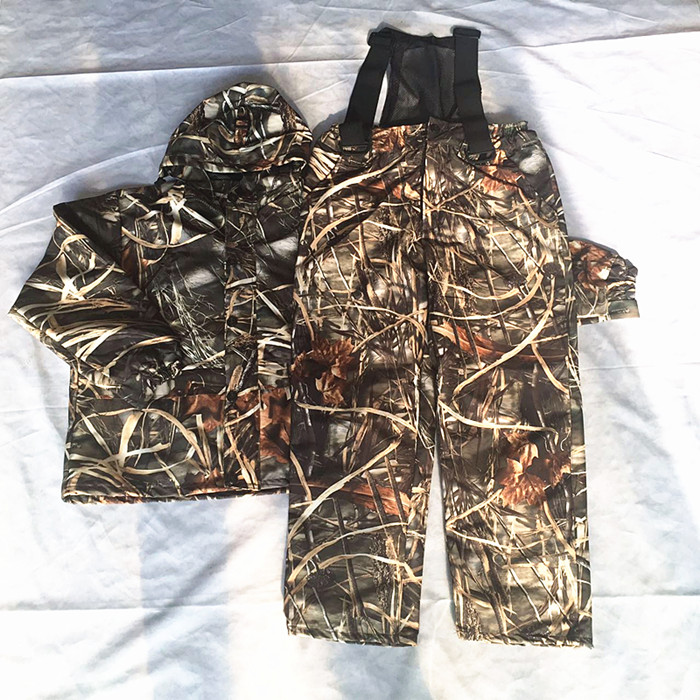 Waterproof Breathable Camouflage Hunting Suits Mens Winter Bionic Camouflage Fishing Clothing Jacket + Pants windproof realtree camouflage suits wild hunting clothing oem vision