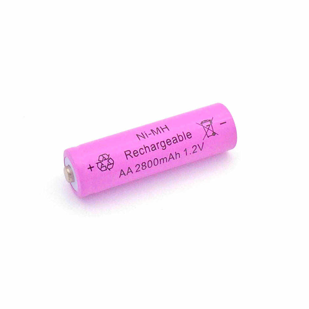 1pc Ni-MH 1.2V AA Rechargeable 2800mAh 2A Neutral Battery Rechargeable battery AA batteries For toys camera